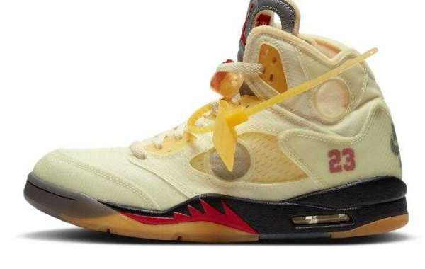 Will You Add the Off-White™ x Air Jordan 5 Sail Your Collections ?