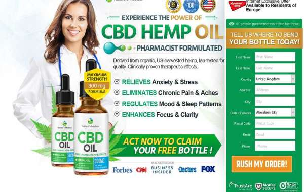 Natures Method CBD Oil: Made With The Purest Hemp Extract!