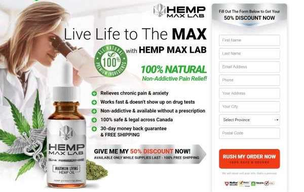 """Where To Buy"""" Hemp Max Lab Oil Canada : 100% Secure, Safe Reviews, Trial, Price and Benefits!"""